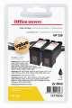 Cartridge Office Depot HP C8767E/2x339 - černá, dvojbalení
