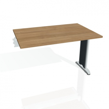 Jednací stůl Hobis Flex FJ 1200 R - višeň/kov