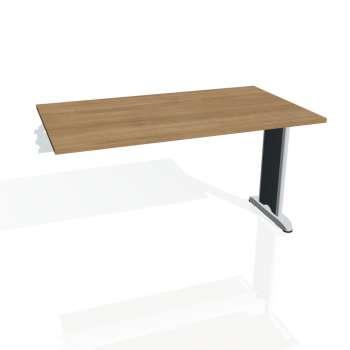 Jednací stůl Hobis Flex FJ 1400 R - višeň/kov