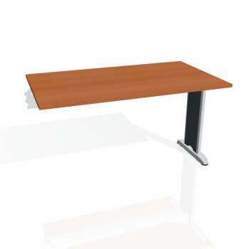 Jednací stůl Hobis Flex FJ 1400 R - třešeň/kov