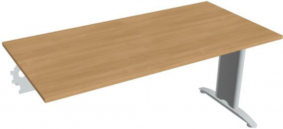 Jednací stůl Hobis Flex FJ 1600 R - calvados/kov