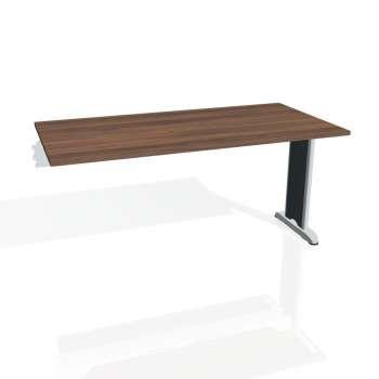 Jednací stůl Hobis Flex FJ 1600 R - ořech/kov