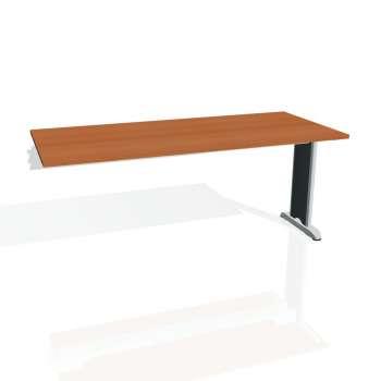 Jednací stůl Hobis Flex FJ 1800 R - třešeň/kov