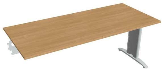 Jednací stůl Hobis Flex FJ 1800 R - calvados/kov