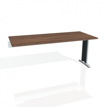 Jednací stůl Hobis Flex FJ 1800 R - ořech/kov