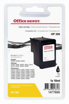 Cartridge Office Depot HP CB335EE/350 - černá