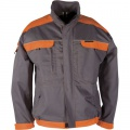Montérková bunda COOL TREND 106 - šedá-oranžová, vel. 48