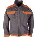 Montérková bunda COOL TREND 106 - šedá-oranžová, vel. 52