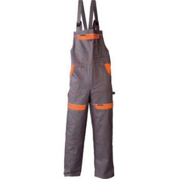 Kalhoty cool trend 306 - šedo oranžová 52