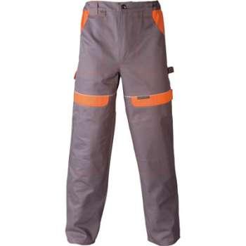 Kalhoty cool trend 206 - šedo oranžové 56