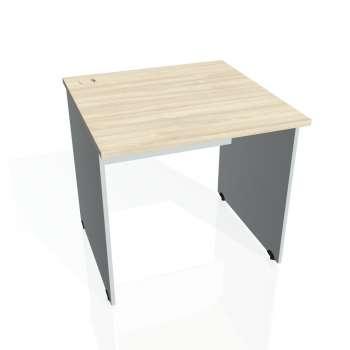Psací stůl Hobis GATE GS 800, akát/šedá
