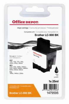 Cartridge Office Depot Brother LC900BK - černá