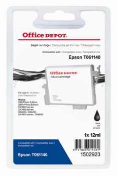 Cartridge Office Depot Epson T061140 - černá