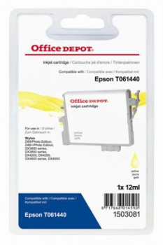 Cartridge Office Depot Epson T061440 - žlutá