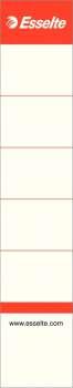 Zasouvací etikety pro pákové pořadače Esselte, 5 cm, 10 ks