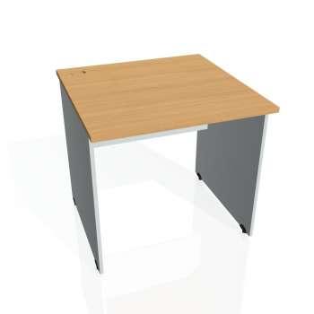 Psací stůl Hobis GATE GS 800, buk/šedá