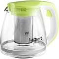 Lamart LT7026 Skleněná čajová konvice 1,1 l, zelen