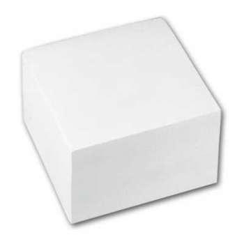 Papírový bloček - špalíček, bílý