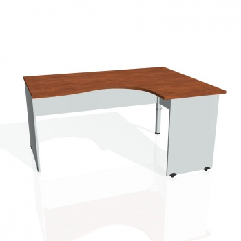 Psací stůl Hobis GATE GE 2005 levý, calvados/šedá