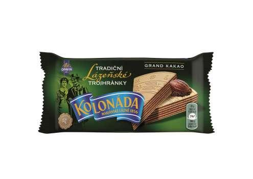 Lázeňské trojhránky kolonáda - kakaové, 50 g