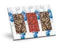 Dárkové balení mléčné čokolády s posypem - 2x mandle a 1x jahoda, 279g