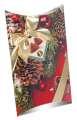 Čokoládové krémové pralinky s kakaovou náplní ve vánoční krabičce, 200g