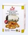 Italské sušenky Cantuccini v plechové dóze, 250g