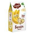 Mrazem sušené plátky banánů Crunchy snack, 30g
