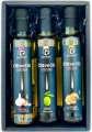 Dárkové balení olivových olejů, 3x 250 ml
