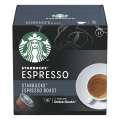 Kávové kapsle Starbucks - Espresso Roast, 12 ks