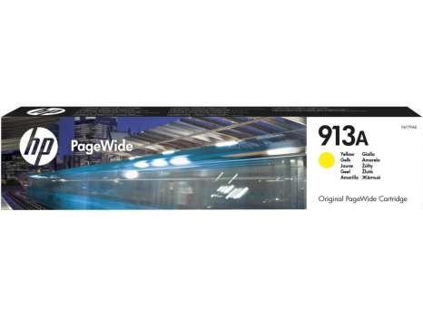 Cartridge HP F6T79AE, č. 913A - žlutá