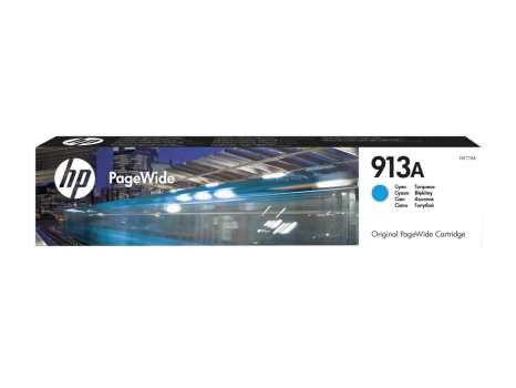 Cartridge HP F6T77AE, č. 913A - azurová