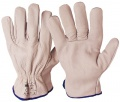Celokožené rukavice proti mech.riziku typ 07140 - vel. 9
