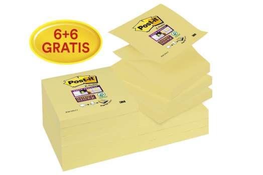 Z- bločky Post-it Super Sticky 76,0 x 76,0 mm, 12 ks