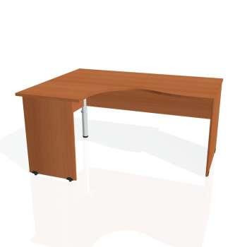 Psací stůl Hobis GATE GE 2005 pravý, třešeň/třešeň