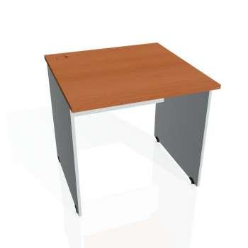 Psací stůl Hobis GATE GS 800, třešeň/šedá