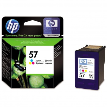 Cartridge HP C6657AE/57 - tříbarevná