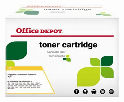 Toner Office Depot  HP C9721A - azurový