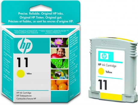 Cartridge HP C4838A/11 - žlutá