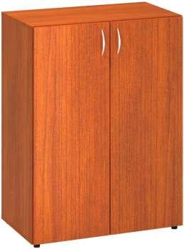 Policová skříň Alfa 500, 3M dveře, třešeň