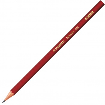 Grafitová tužka Stabilo Swano 2B, bez pryže