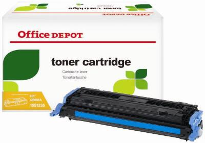 Toner Office Depot  HP Q6001A - azurový