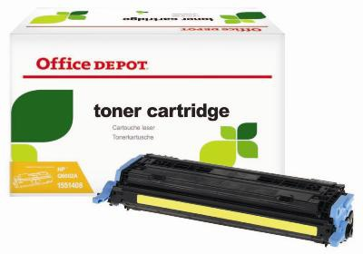 Toner Office Depot  HP Q6002A - žlutý