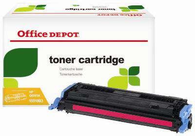 Toner Office Depot  HP Q6003A - purpurová