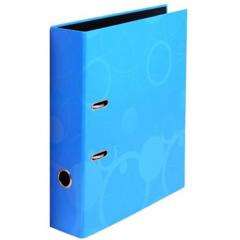 Pákový pořadač NEO COLORI - A4, plastový, hřbet 7,0 cm, modrá
