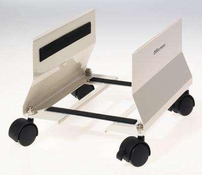 Pojízdný stojan na PC Office Depot - šedá, mobilní