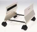 Pojízdný stojan na PC Office Depot - šedý, mobilní