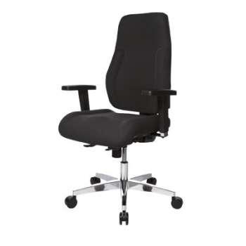 Kancelářská židle Realspace Pro Signum synchronní - černá