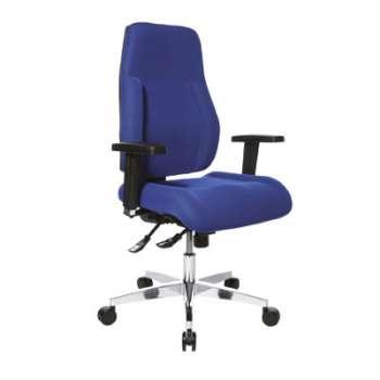 Kancelářská židle Realspace Pro Signum synchronní - modrá