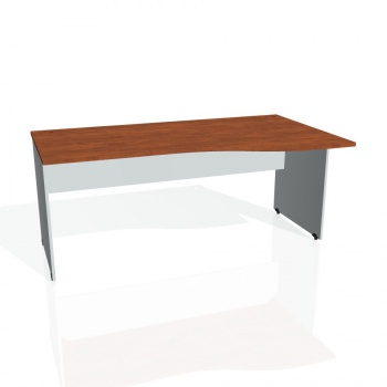 Psací stůl Hobis GATE GE 1000 levý, calvados/šedá